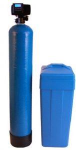 Fleck 64k water softener 64,000 Grains Blue
